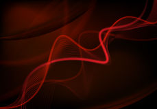 Red futuristic background Royalty Free Stock Photos
