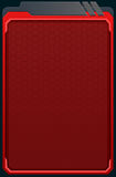 Red futuristic background Royalty Free Stock Photography