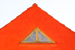 Red gable Royalty Free Stock Photography