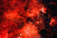 Red galaxy. Elements of this image furnished by NASA. Red galaxy in outer space. Elements of this image furnished by NASA stock photos