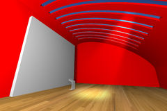 Red gallery Royalty Free Stock Images
