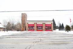 Red Garage Royalty Free Stock Image