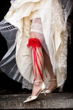 red garter Royalty Free Stock Photography