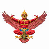 Red Garuda Stock Image