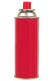 Red gas cylinder Royalty Free Stock Images