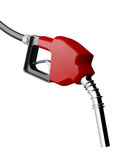 Red Gas Nozzle Stock Photos