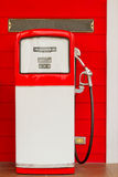 Red gas pump Stock Photography