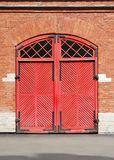 Red Gate Stock Images