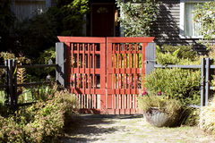 Red gate Stock Photos