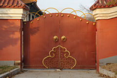 Red Gate royalty free stock images