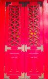 Red Gate Royalty Free Stock Photography