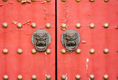 Red gate Stock Image