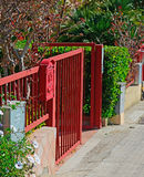 Red gate Royalty Free Stock Photos
