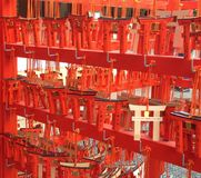 Red Gate at Shire. Fushimi Inari Shire,Kyoto, Japan Stock Photography