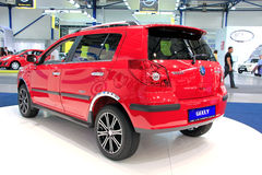 Red Geely MK Cross Royalty Free Stock Image