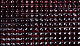 Red Gemstones Background. A background with a horizontal pattern of crimson and red gemstones Royalty Free Stock Photo