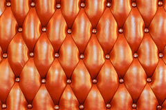 Red Genuine leather background Stock Photos