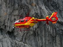 Red, Geological Phenomenon, Car, Helicopter Royalty Free Stock Photography