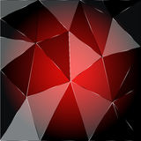 Red geometric background Royalty Free Stock Image
