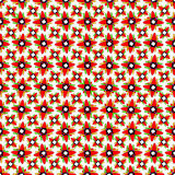 Red geometric objects on a light background wallpaper. (vector eps 10 vector illustration