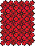 Red Geometric Pattern Royalty Free Stock Photography