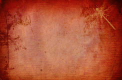 Red Ghotika Background. Red ghotic background made in Photoshop using my own textures, images and PS animal brushes. A unique background for an photoalbums, web Royalty Free Stock Image