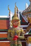 Red gian in bangkok Stock Photography