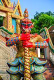 Red Giant statue Royalty Free Stock Photo