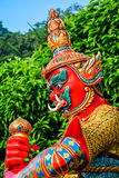 Red Giant statue Stock Photography