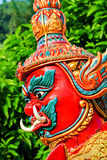 Red Giant statue Royalty Free Stock Image