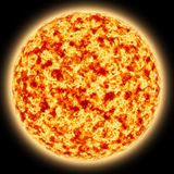 Red Giant Sun 2 Stock Photo