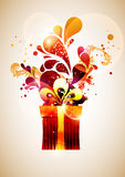 Red gift. Royalty Free Stock Photography