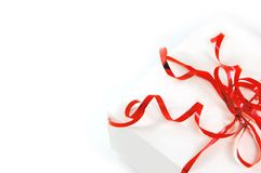 Red gift Royalty Free Stock Photo