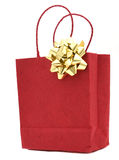 Red Gift Bag Royalty Free Stock Photo