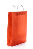 Red gift bag paper Stock Photo
