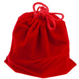 Red gift bag Royalty Free Stock Image