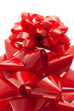 Red gift bows Royalty Free Stock Image