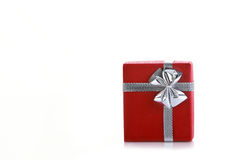 Red gift box Stock Photography