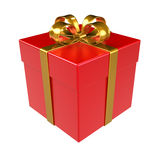 Red Gift Box. Stock Images