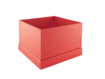 Red gift box Stock Image