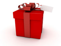 Red Gift Box,Christmas Gift Royalty Free Stock Photo