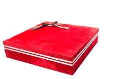 Red Gift Box II Stock Photo