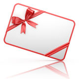 Red Gift Card Stock Photos