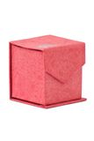 Red gift cardboard box. Royalty Free Stock Photography