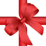 Red Gift Knot Stock Photos