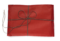 Red gift pack. Royalty Free Stock Photography