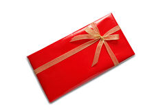 Red Gift Package Royalty Free Stock Photography