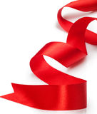 Red gift ribbon Royalty Free Stock Image