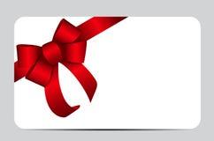 Red Gift Ribbon. Vector illustration. EPS10 Stock Photos