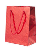 Red giftbag Royalty Free Stock Photography
